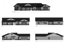 Farmhouse Exterior - Other Elevation Plan #1077-3