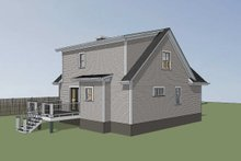 Dream House Plan - Cottage Exterior - Other Elevation Plan #79-156