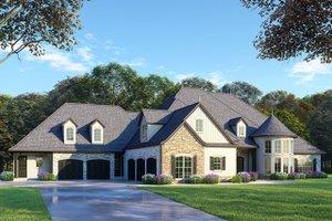 Dream House Plan - European Exterior - Front Elevation Plan #923-87