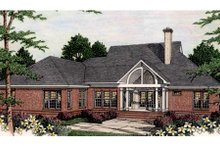 Dream House Plan - Southern Exterior - Rear Elevation Plan #406-112