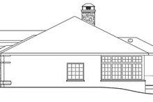 Dream House Plan - Mediterranean Exterior - Other Elevation Plan #124-727