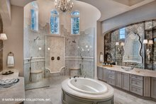 European Interior - Master Bathroom Plan #930-510