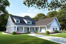 Architectural House Design - Farmhouse Exterior - Front Elevation Plan #923-107