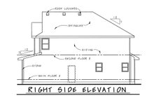Architectural House Design - Bungalow Exterior - Other Elevation Plan #20-1770