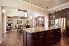 Architectural House Design - Mediterranean Interior - Kitchen Plan #80-221