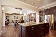 Home Plan - Mediterranean Interior - Kitchen Plan #80-221