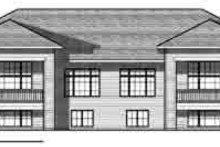 Traditional Exterior - Rear Elevation Plan #70-823