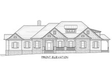 House Plan Design - Traditional Exterior - Front Elevation Plan #1054-21