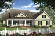Colonial Style House Plan - 4 Beds 2.5 Baths 2269 Sq/Ft Plan #21-376 Exterior - Front Elevation
