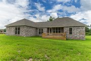 Ranch Style House Plan - 4 Beds 2 Baths 1889 Sq/Ft Plan #430-182 Exterior - Rear Elevation