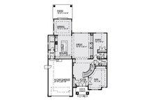 Contemporary Floor Plan - Main Floor Plan Plan #1066-17