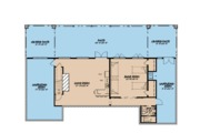 Ranch Style House Plan - 3 Beds 3.5 Baths 3415 Sq/Ft Plan #923-88 Floor Plan - Lower Floor