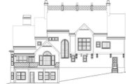 European Style House Plan - 4 Beds 3.5 Baths 3276 Sq/Ft Plan #119-136 Exterior - Rear Elevation