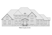 House Plan Design - European Exterior - Front Elevation Plan #1054-76