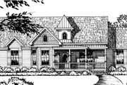Country Style House Plan - 3 Beds 2 Baths 1753 Sq/Ft Plan #40-337 Exterior - Front Elevation