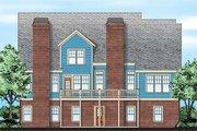 Farmhouse Style House Plan - 4 Beds 3.5 Baths 2795 Sq/Ft Plan #927-41 Exterior - Rear Elevation