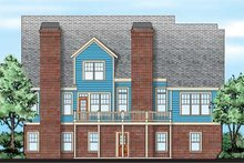 Dream House Plan - Farmhouse Exterior - Rear Elevation Plan #927-41
