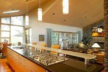 Modern Interior - Kitchen Plan #48-457