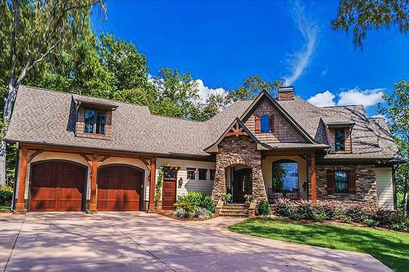 House Design - Craftsman Exterior - Front Elevation Plan #120-184