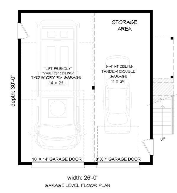 House Plan Design - Contemporary Floor Plan - Lower Floor Plan #932-70