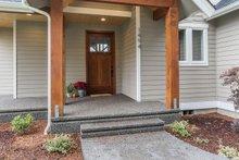 Craftsman Exterior - Covered Porch Plan #1070-29