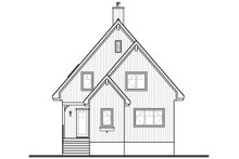 House Plan Design - Contemporary Exterior - Front Elevation Plan #23-2629