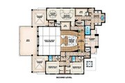 Beach Style House Plan - 4 Beds 4.5 Baths 13562 Sq/Ft Plan #27-488 Floor Plan - Upper Floor