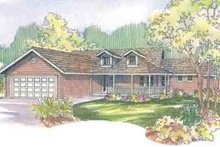 Home Plan - Traditional Exterior - Front Elevation Plan #124-495