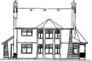 Victorian Style House Plan - 4 Beds 2.5 Baths 2258 Sq/Ft Plan #47-279 Exterior - Rear Elevation