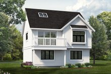 Home Plan - Country Exterior - Front Elevation Plan #47-516