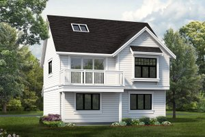 House Plan Design - Country Exterior - Front Elevation Plan #47-516