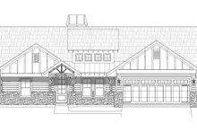 Country Exterior - Front Elevation Plan #932-138
