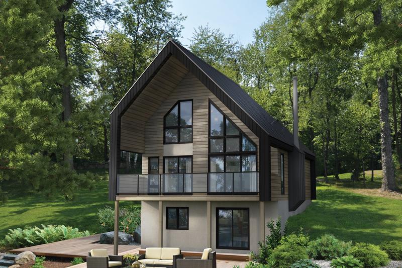 House Design - Cottage Exterior - Front Elevation Plan #25-4933