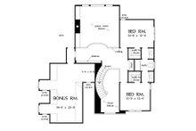 Craftsman Floor Plan - Upper Floor Plan Plan #929-30