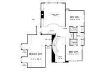 Craftsman Floor Plan - Upper Floor Plan Plan #929-30