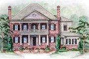Southern Style House Plan - 5 Beds 5.5 Baths 5693 Sq/Ft Plan #54-132