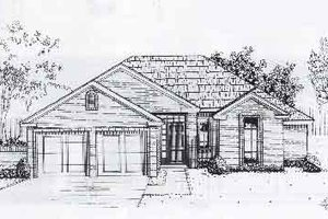 Traditional Exterior - Front Elevation Plan #310-890