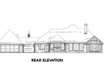 Traditional Exterior - Rear Elevation Plan #310-647