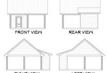 Dream House Plan - Farmhouse Exterior - Other Elevation Plan #430-198
