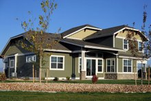 House Plan Design - Craftsman Exterior - Rear Elevation Plan #1069-11