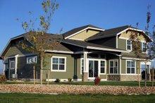 Dream House Plan - Craftsman Exterior - Rear Elevation Plan #1069-11