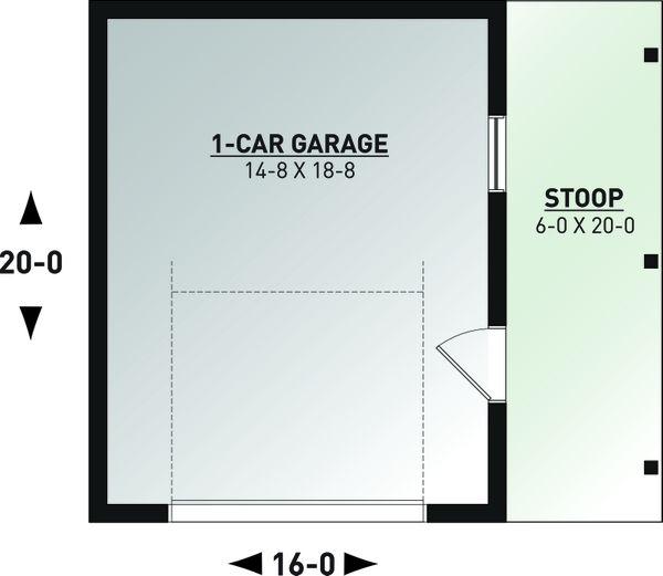 Farmhouse Floor Plan - Main Floor Plan #23-2749