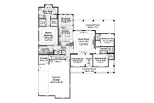 Farmhouse Floor Plan - Main Floor Plan Plan #21-452
