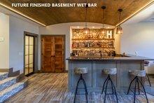 House Plan Design - Future Finished Basement Wet Bar