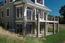 Traditional Exterior - Rear Elevation Plan #928-11