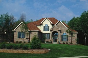 Home Plan Design - European Exterior - Front Elevation Plan #20-904