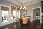 Mediterranean Style House Plan - 3 Beds 2 Baths 1720 Sq/Ft Plan #20-2174 Interior - Dining Room