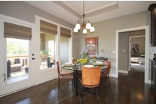 Home Plan - Mediterranean Interior - Dining Room Plan #20-2174
