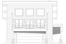 Dream House Plan - Contemporary Exterior - Front Elevation Plan #932-67