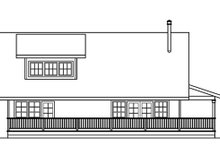 House Plan Design - Cottage Exterior - Other Elevation Plan #124-473